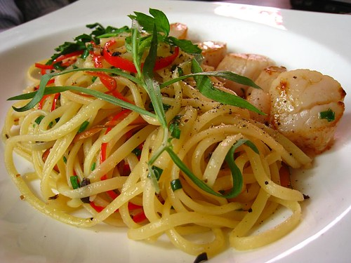 Scallop Linguine @ White Rabbit