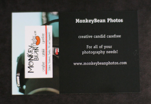Back of New Business Cards