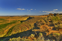 From Malheur to Steens (Fort Photo) Tags: blue vacation mountain nature oregon rural landscape outdoors gold nikon northwest or pacificnorthwest prairie plains grassland pnw hdr grasslands refuge malheur nwr harney d300 photomatix malheurnationalwildliferefuge anawesomeshot goldenphotographer seor absolutelystunningscapes 2008reunionnature