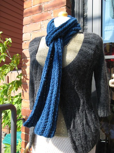 sample mistake rib scarf