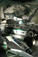 Williams Museum 044 (the new trail of tears) Tags: museum williams f1 mansell nigel senna fw ayrton fw07