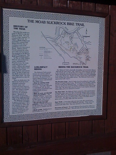 Slickrock Bike Map