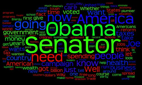 McCain Debate Word Cloud