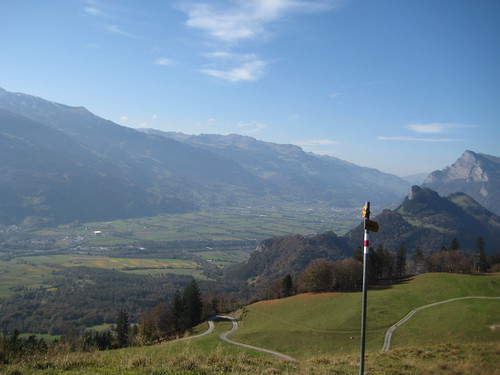 Hiking in Maienfeld