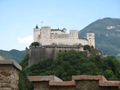 Festung Hohensalzburg from Richterhoehe
