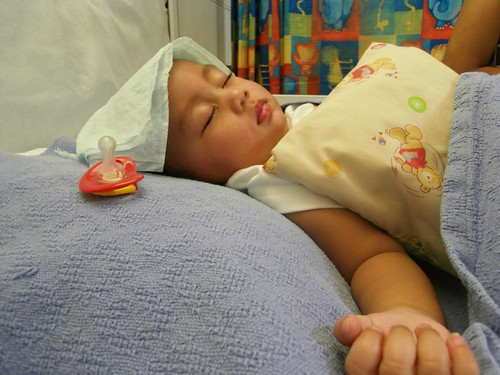 Alin in Hospital