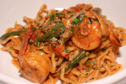Shrimp and Lobster Linguine
