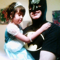 Batman Carries Cinderella
