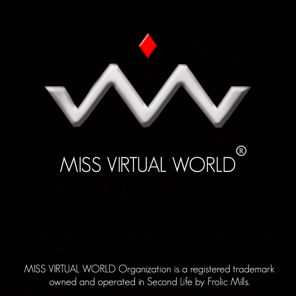 Miss Virtual World Offical logo