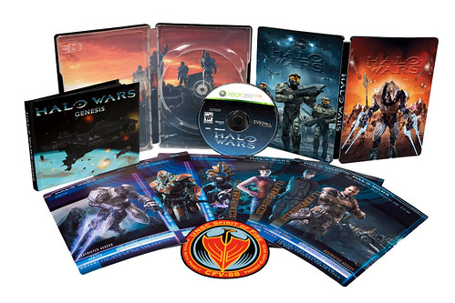 Halo Wars Limited edition DVD