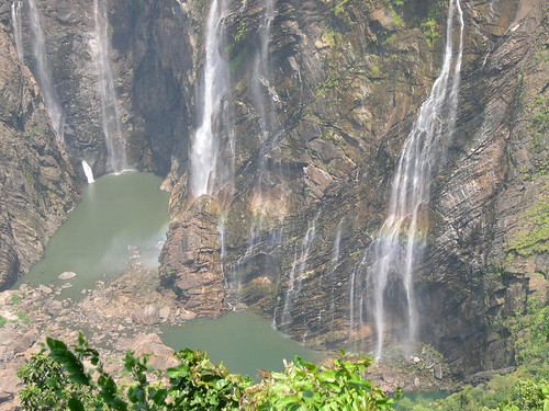 Jog Falls: the main falls