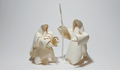 Nativity of Jesus (inspired by Giang Dinh) (MABONA ORIGAMI) Tags: xmas white art paper joseph origami christ mary jesus nativity folding siphomabona
