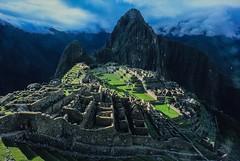 Machu Picchu at sunset