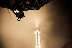 * (YENTHEN) Tags: mist fog night shanghai smoke streetphotography pearl raining yenthen