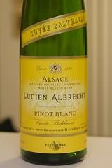 """2007 Lucien Albrecht """"Cuvée Balthazar"""" Pinot Blanc"""