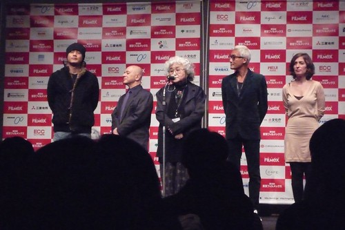 Tokyo Filmex Competition Jury: Nogami Teruyo, Tony Leung Ka-Fai, Song Il-Gon, Isabelle Regnier, Leon Cakoff