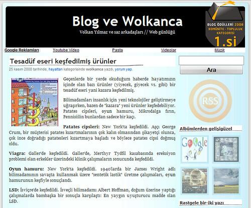 blog wolkanca // kasım 2008