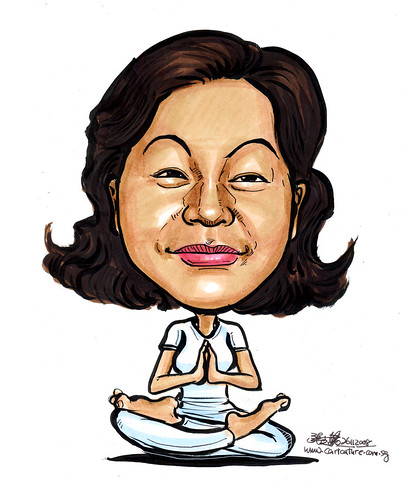 Caricature Yoga