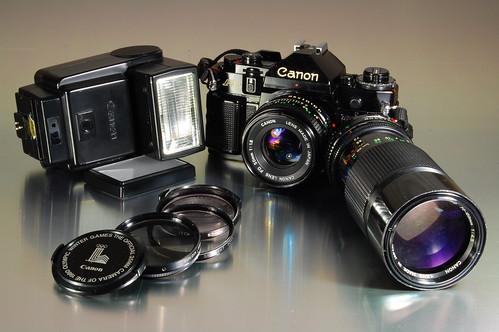 Canon A-1 Set