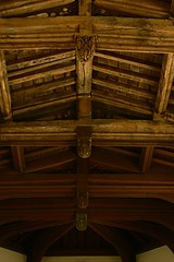 Roof beams All Saints
