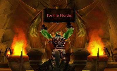For the Horde, Death Knight!