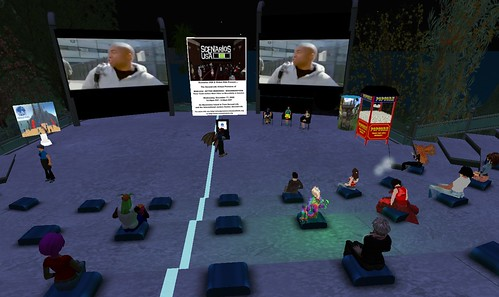 Scenarios USA Real Deal virtual premiere in Second Life
