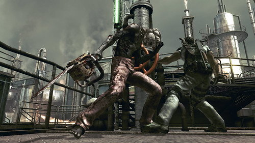 Resident Evil 5 Chainsaw