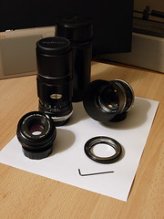 Minolta Rokkor Lenses