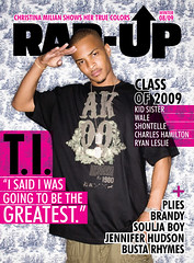 t.i rap up magazine cover