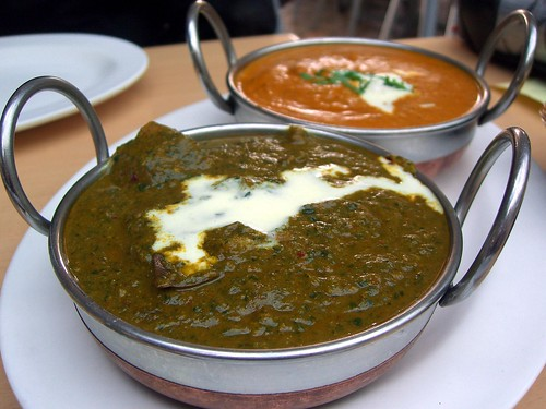 Lamb Saag and Chicken Korma – Northern Indian, Palms Food Court