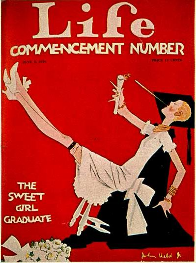 John Held Jr., Life Commencement Number, The Sweet Girl Graduate, 1920s