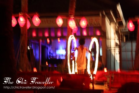 Firedancing in Boracay