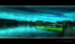 riverport (Russkee) Tags: station clouds port river boat sony philippines terminal wharf alpha orton outrigger leyte a300 ormoc abuyog