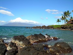 Chang's Beach Dec 25 2008 (I'm cindylouwho2) Tags: ocean volcano lava maui changsbeach cindylouwho2