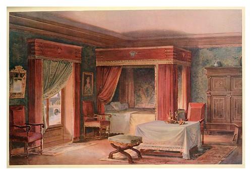 002- Dormitorio Luis XIII estilo Abraham Bosse 1907