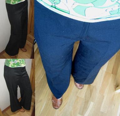 Svart bukse