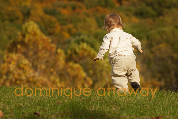 little boy climbing mountain fall <span class=