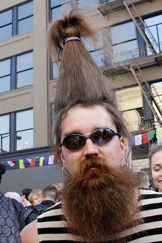 How Weird Street Faire: Unique Hairstyle