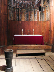 OSL0809 294 Stave church (watz) Tags: history oslo norway museum artifact stavechurch norskfolkemuseum