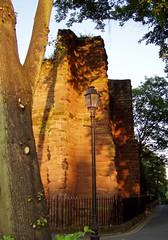 St John's ruins,Chester June 2010 (DizDiz) Tags: uk england cheshire olympusc720uz