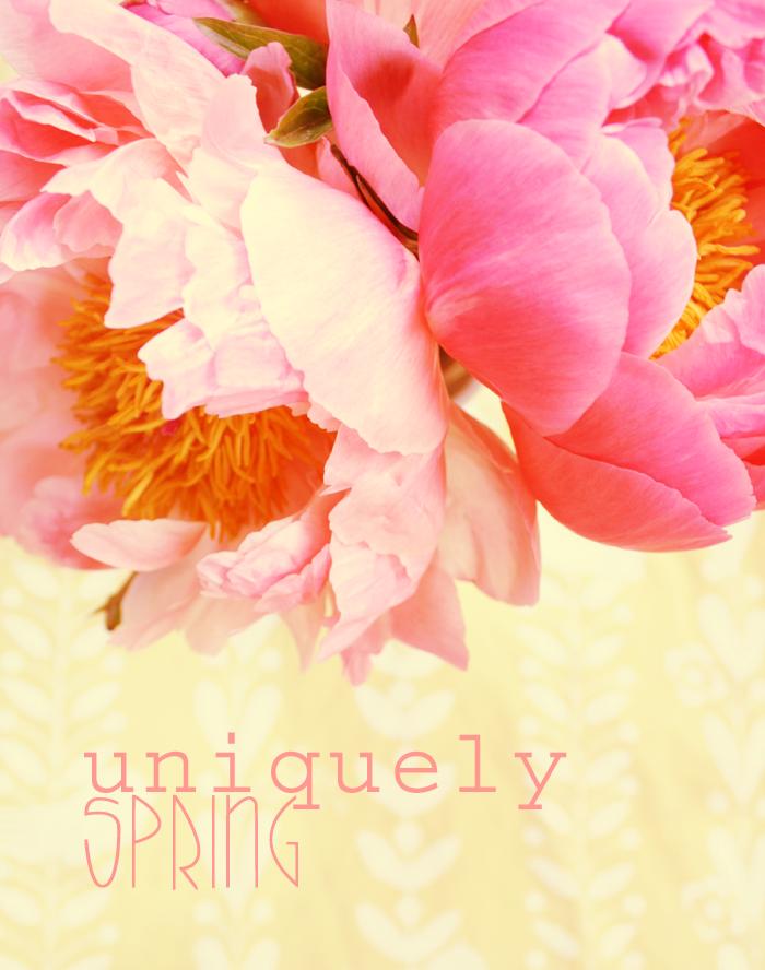 *uniquely spring*