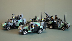 West-Russian light armour (Aleksander Stein) Tags: 6x6 support close lego general military mortar vehicle combat purpose carrier armoured kamaz 5602 mrap 6602 efaf ccav westrussia agpv