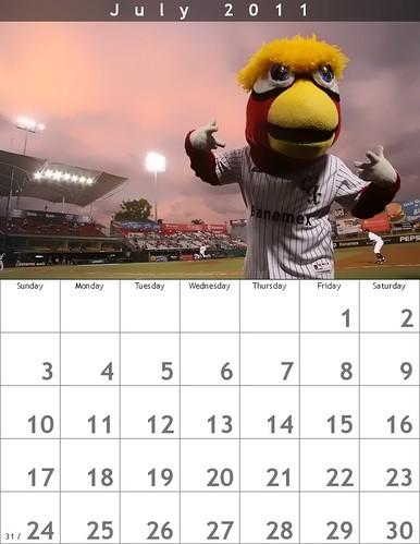 July 2011 Tato Calendar