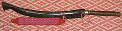 lalaw behuw A-2 (Yugan Dali) Tags: knife taiwan weapon sword aborigine indigenous tayal 泰雅 武器 lalaw laraw 番刀