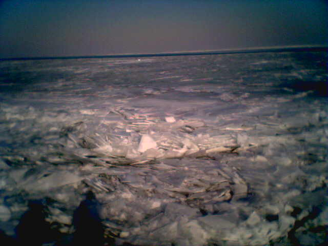 Lake Michigan - Frozen