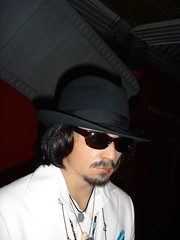 Johnny Depp (adoublec) Tags: starwars blackpool 007 tussauds jamesbond davidbeckham waxworks louistussaudswaxworks