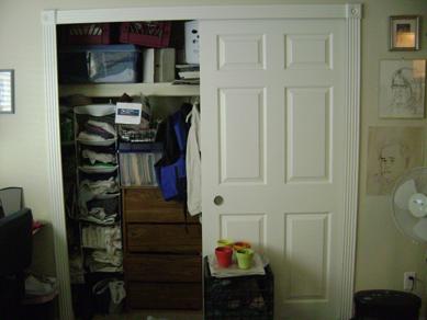 closet, left