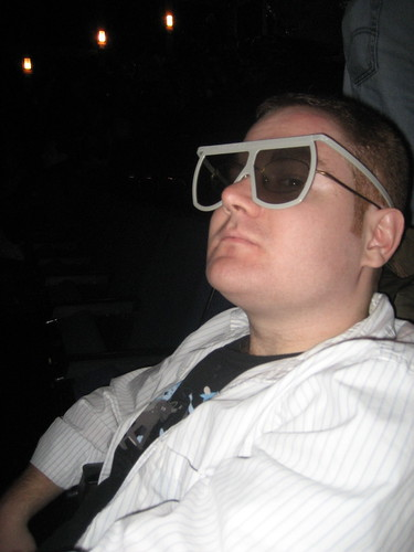 tyler sporting the hot 3D glasses