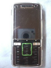 Screen, Keypad off - Sony Ericsson K850i