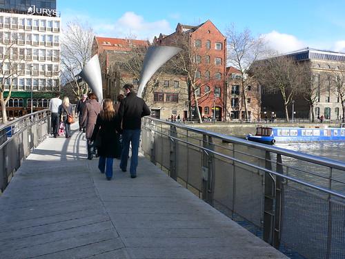 Pero's bridge, Bristol docks